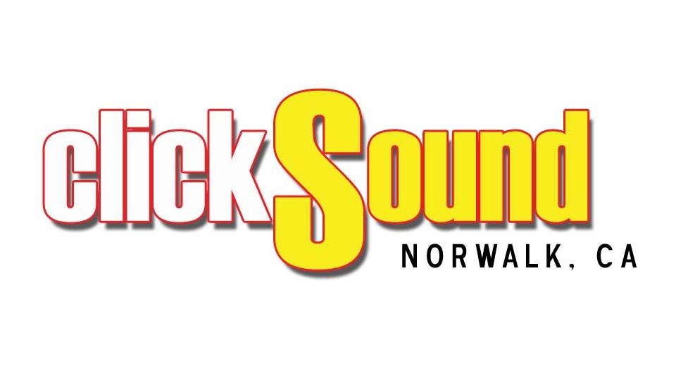 clickSound & Stage logo